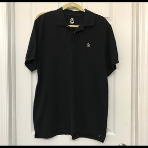 Nike black polo shirt xl